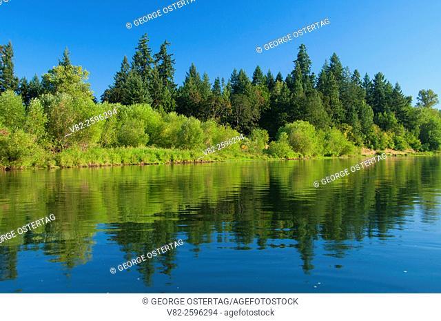 Willamette River, Willamette River Greenway, Marion County, Oregon