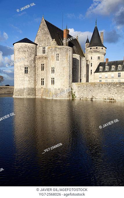 Castle of Sully-Sur-Loire, Loiret, Centre-Val de Loire, France