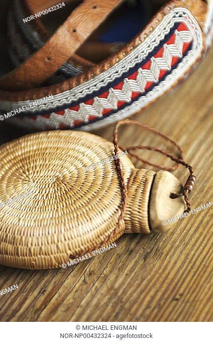 Closeup view of handicraft