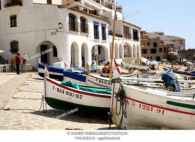 'Cala del Port Bo'. Calella de Palafrugell. Girona province. Spain