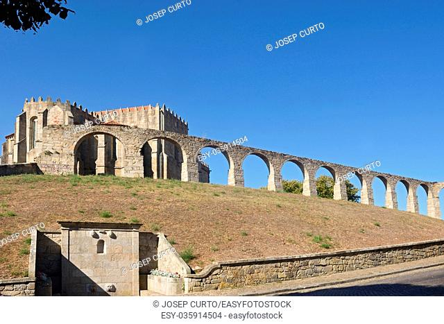 Monastery of Santa Clara and Aqueduct, Vila do Conde, Douro Region, Northern Portugal