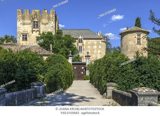 Allemagne-en-Provence, Alpes-de-Haute-Provence, Provence, France