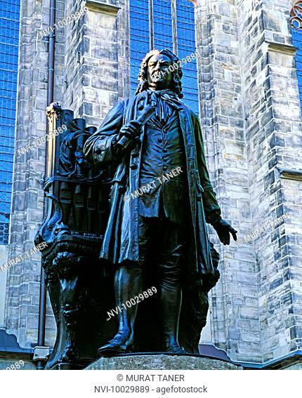 Johann Sebastian Bach statue, Leipzig, Germany