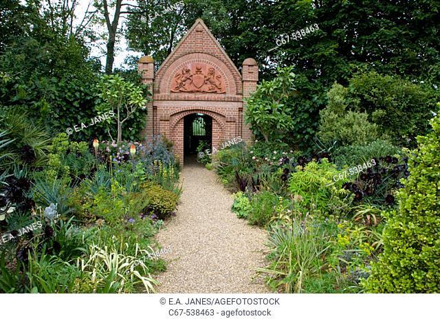 Garden Border Path East Ruston Garden