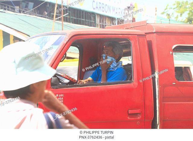 Philipins, Cebu City. Cebu Island. Pollution