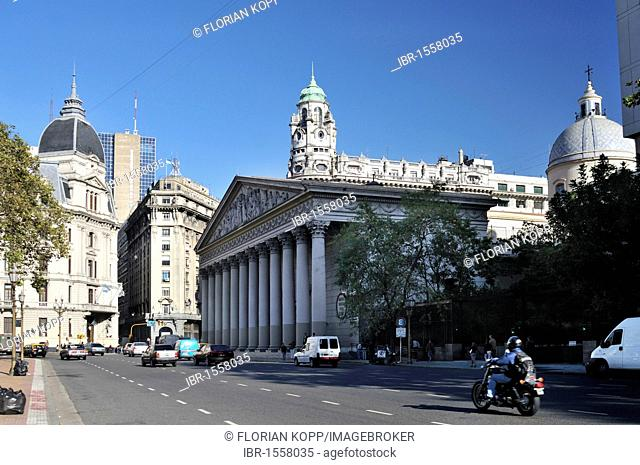 Buenos Aires Metropolitan Cathedral at Plaza de Mayo square, Montserrat district, Buenos Aires, Argentina, South America