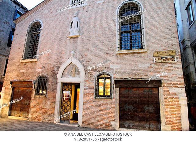 Cityscape in Venice Veneto Italy