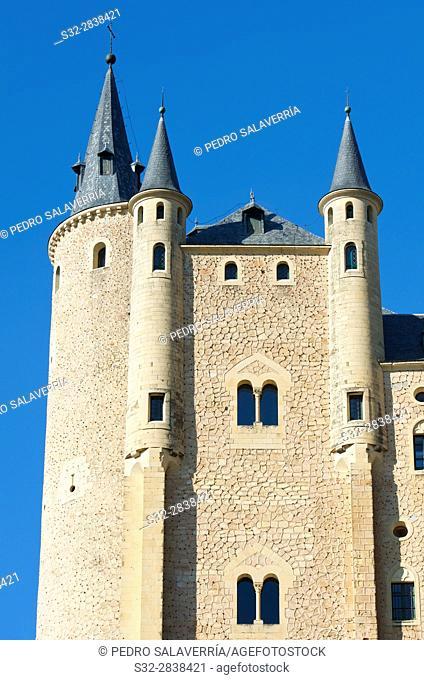 Alcazar of Segovia, Castilla Leon in Spain