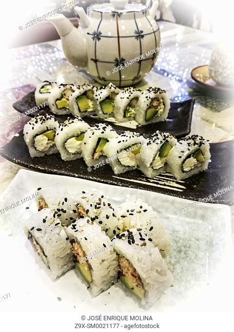 Nikkei cuisine. Lima, Peru
