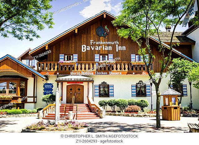 The Bavarian Inn Restaurant Frankenmuth Michigan MI