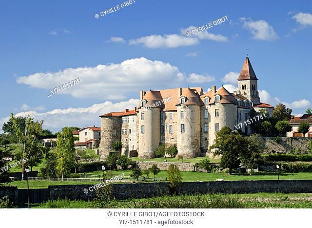 The priory of Pommiers  Loire département, Rhône-Alpes region, France