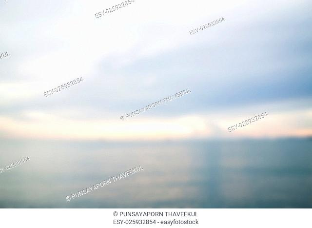 Abstract blur background from sea, stock photo