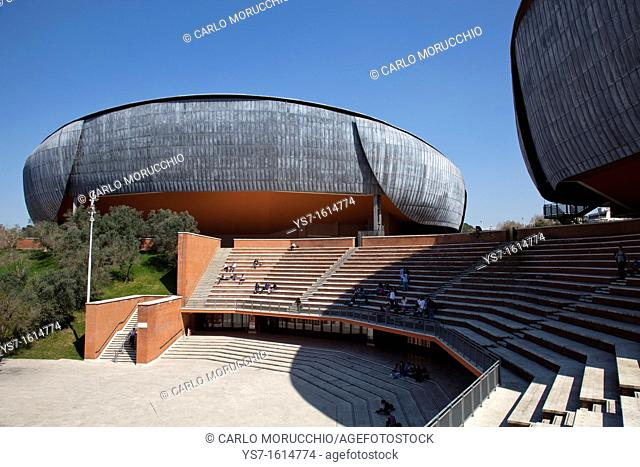 Concert hall at Music parc, Rome, Lazio, Italy, Europe