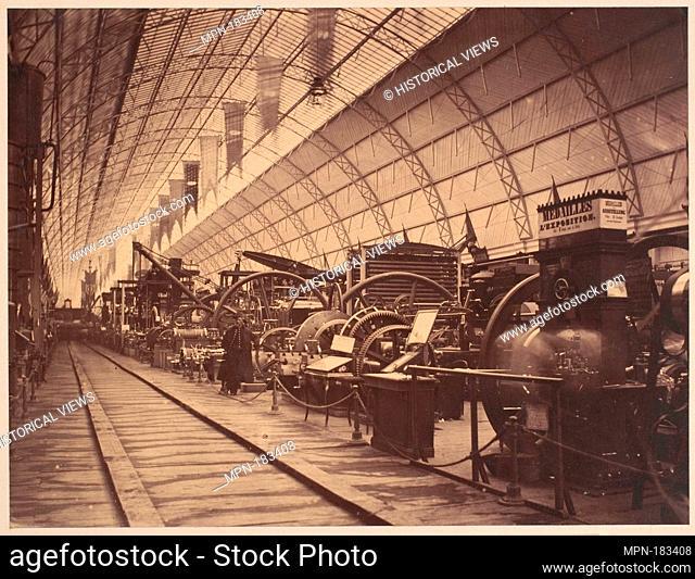 French Machinery. Artist: Charles Thurston Thompson (British, Peckham 1816-1868 Paris); Date: 1855; Medium: Salted paper print from glass negative; Dimensions:...