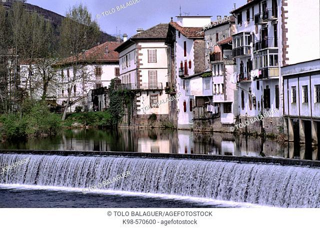 Bidasoa river, Elizondo, Navarre, Spain