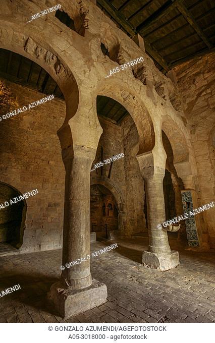 Suso monastery VI-Xthe century. UNESCO World Heritage. San Millan de la Cogolla. La Rioja. Spain.