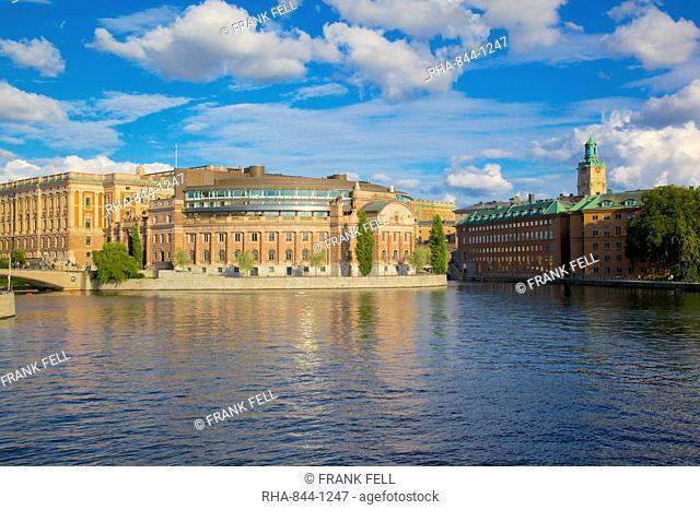 Swedish Parliament, Gamla Stan, Stockholm, Sweden, Scandinavia, Europe