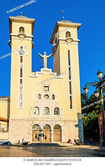Parish Church of St. Mary Magdalene. Ribadesella. Asturias, Spain