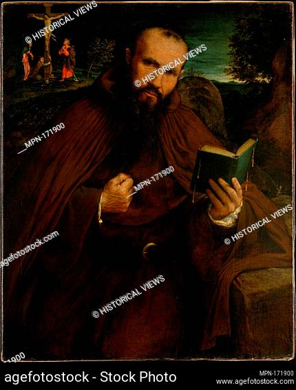 Brother Gregorio Belo of Vicenza. Artist: Lorenzo Lotto (Italian, Venice ca. 1480-1556 Loreto); Date: 1547; Medium: Oil on canvas; Dimensions: 34 3/8 x 28 in