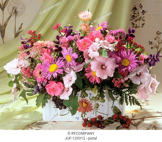 bouquet with different flowers