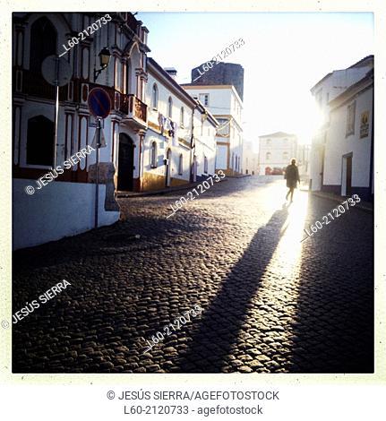 Sun, Arronches, Alentejo, Portugal