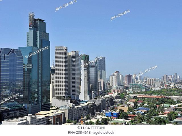 View of Makati, Manila, Philippines, Southeast Asia, Asia