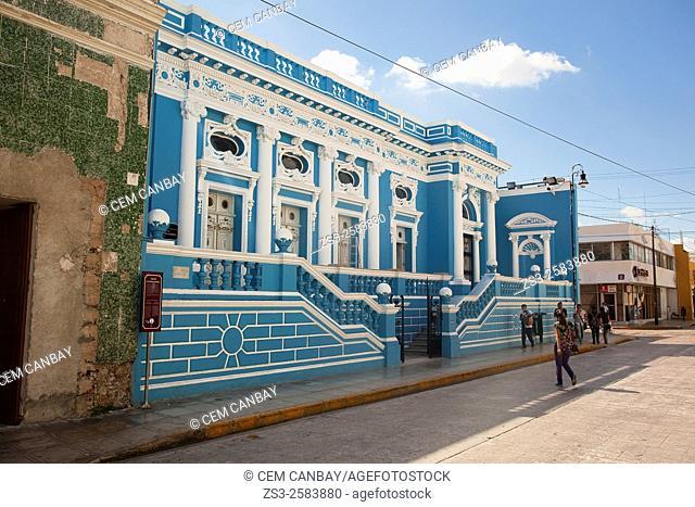 Casa de la Cultura Juridica, Merida, Yucatan Province, Mexico, Central America