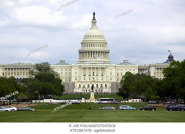 The US Capitol building Washington DC USA