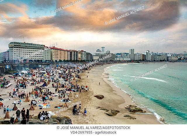 In the city of La Coruna, the party has achieved the distinction of being considered of International Tourist Interest. The whole town goes out to celebrate its...