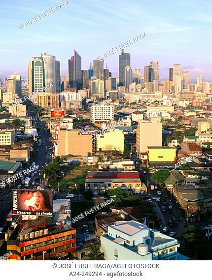 Makati District. Manila. Philippines