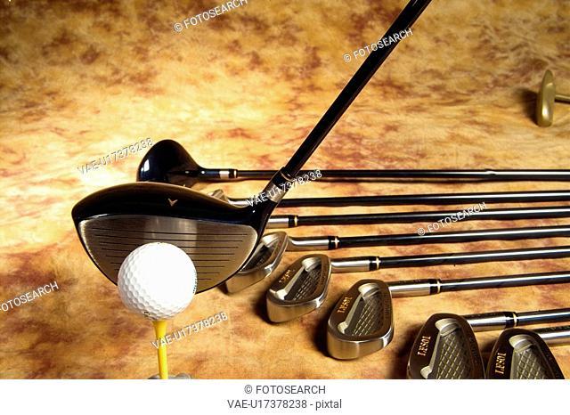 putter, club, golf, leisure, sports, iron, ball