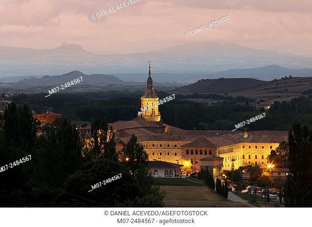 Yuso Monastery, San Millán de la Cogolla, Rioja Wine Region, Spain, Europe