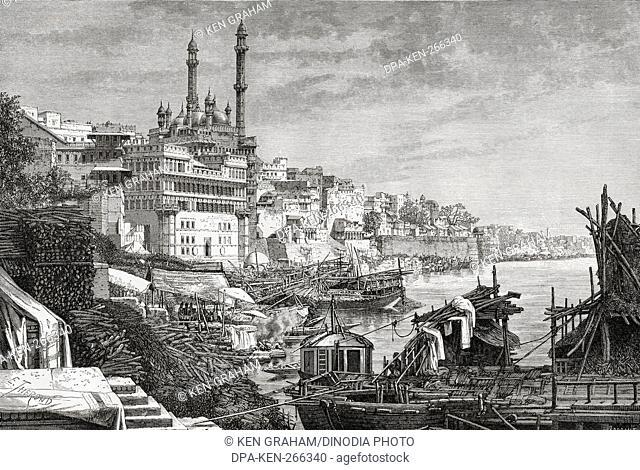 Madhura Ghat, Varanasi, uttar pradesh, India, Asia
