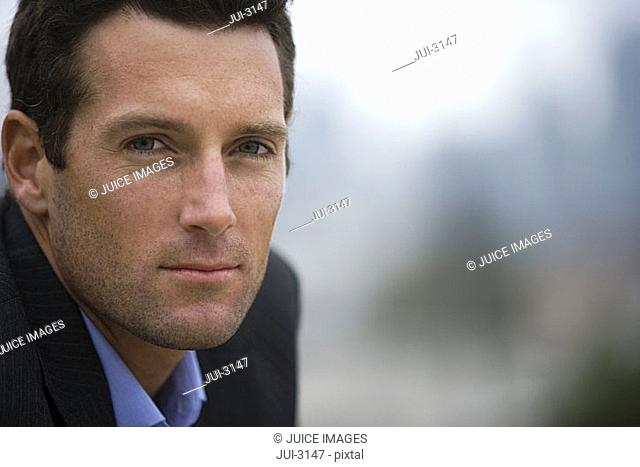 Businessman, close-up, portrait