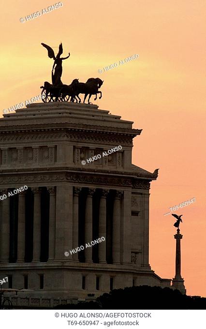 Vittoriano. Roma. Lazio. Italy