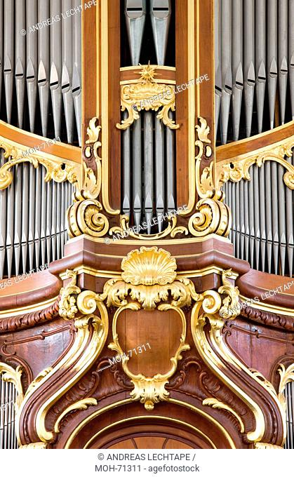 Große Steinmeyer-Orgel, 1960-1962, Detail