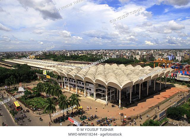 Kamalapur Railway Station is the central railway station in Dhaka, Bangladesh It is the largest railway station in the country