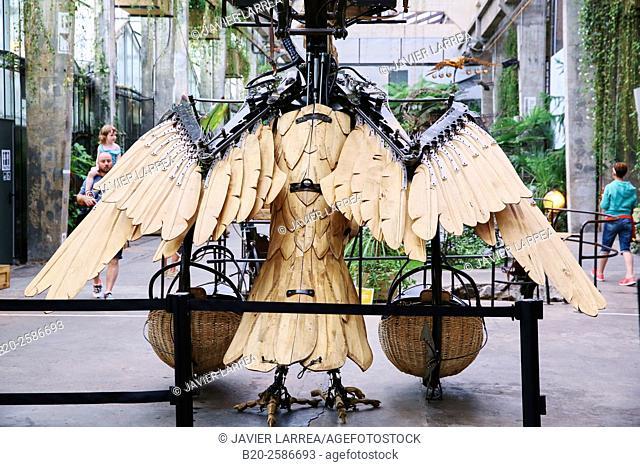 Galerie des Machines, Les Machines de l'Île, Nantes, Pays de la Loire, France