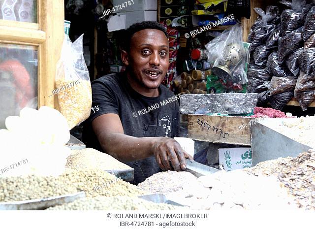 Spice Traders, Market, Addis Ababa, Ethiopia
