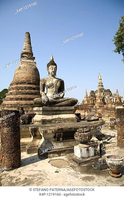 Wat Mahathat Temple. Sukhothai, Thailand