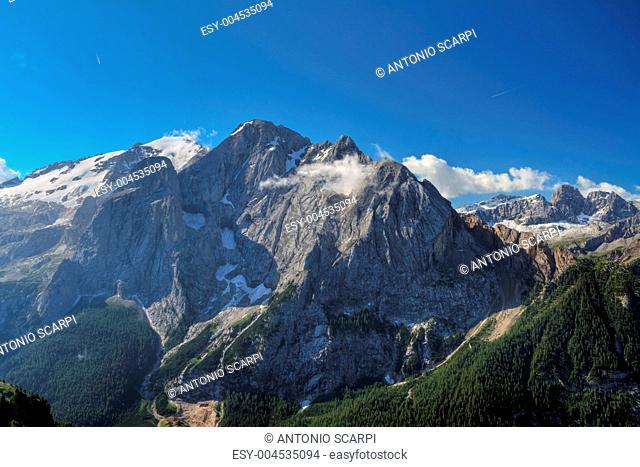 Marmolada mountain