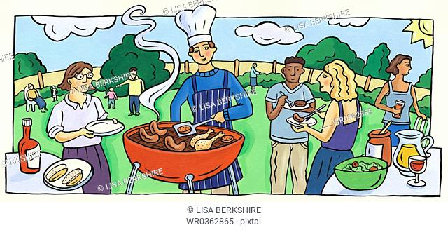 Friendly Barbeque