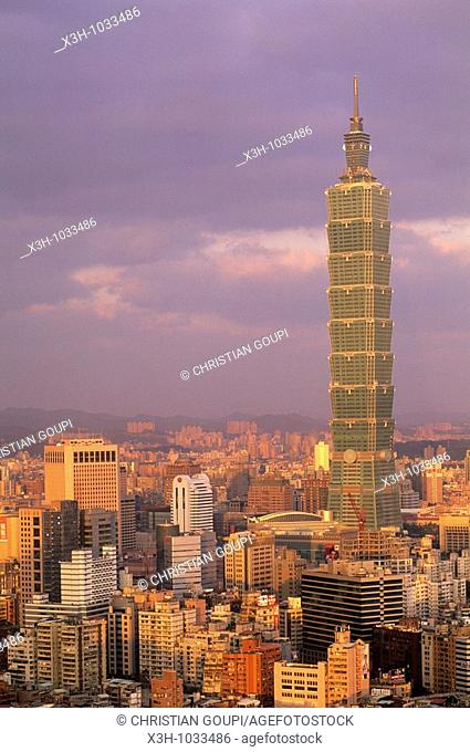 Taipei 101 is a landmark skyscraper located in Xinyi District, Taipei The building was the world's tallest until it was surpassed in height by the Burj Khalifa...