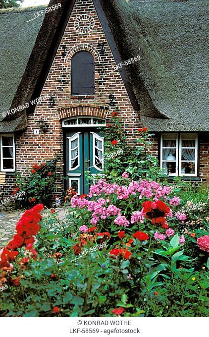 friesian house, Keitum, Sylt, Germany