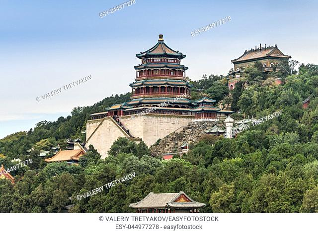 The Summer Palace of emporers from dynasties of the past - Beijing, China
