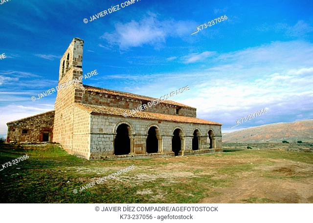 Nuestra Señora de Tiermes, Romanesque church (built 12th century). Soria province. Spain