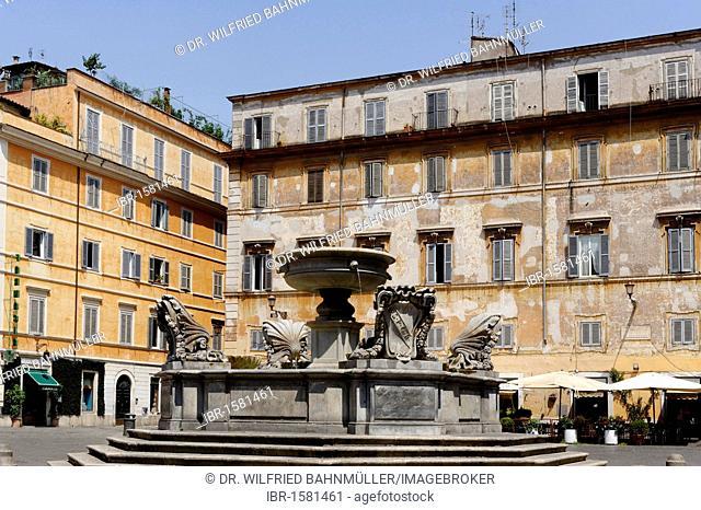 Piazza Santa Maria, Trastevere, Rome, Italy, Europe