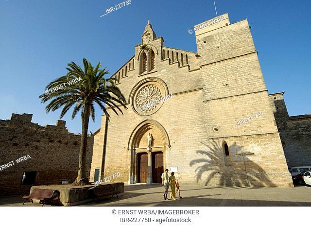 Church Sant Jaume, Alcudia, Majorca, Spain