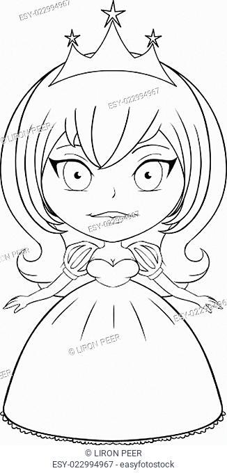 Princess Coloring Page 5