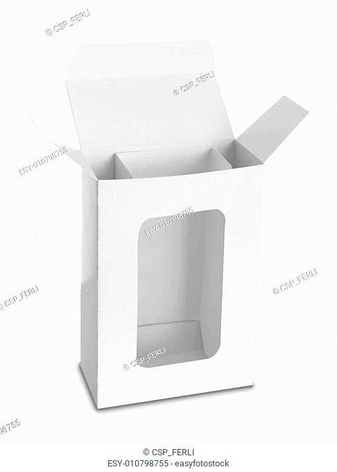 white Package Box for products